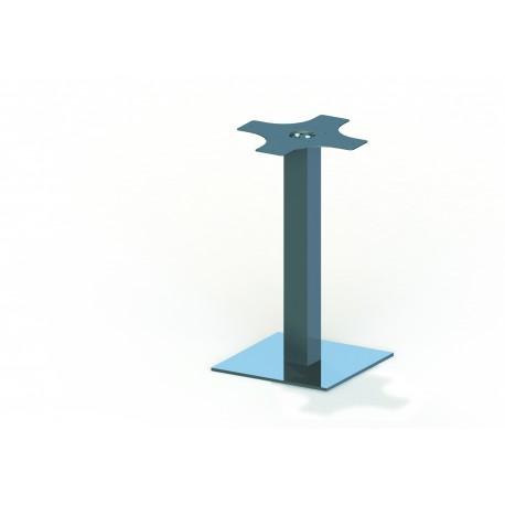 Pie de mesa base cuadrada